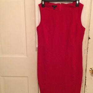 Talbots red dress size 8P